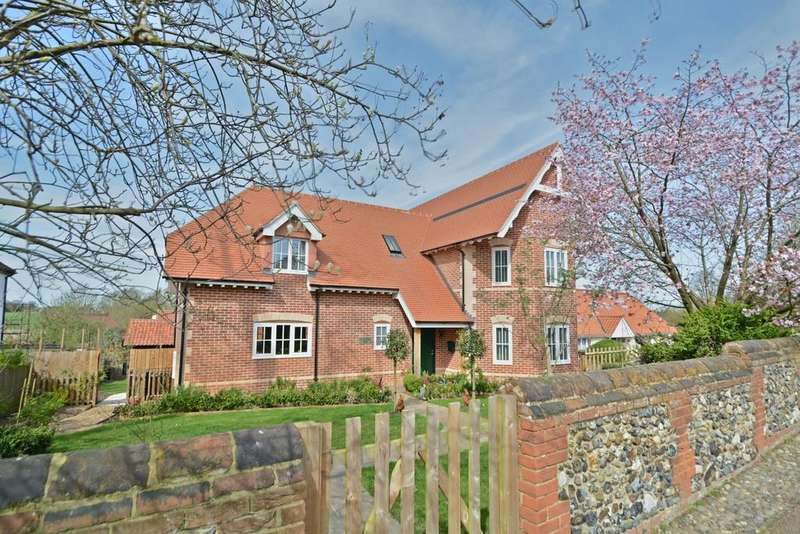 4 Bedrooms Detached House for sale in Maypole Meadow, Rickinghall