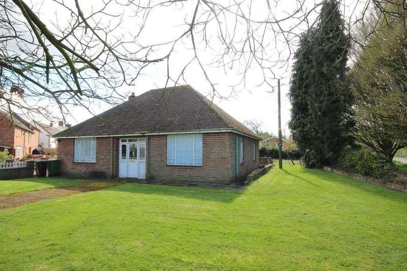 2 Bedrooms Detached Bungalow for sale in Blackhorse Hill, Appleby Magna