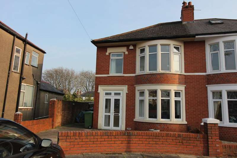 3 Bedrooms Semi Detached House for sale in St. Gowan Avenue, Heath, Cardiff