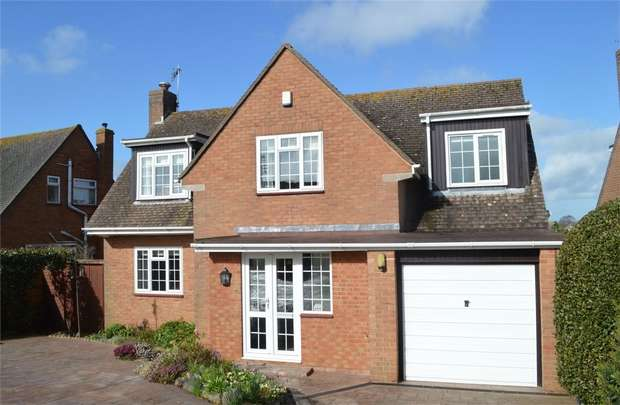 4 Bedrooms Detached House for sale in 151 Hulham Road, EXMOUTH, Devon