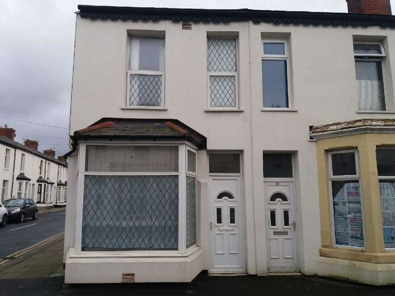 3 Bedrooms End Of Terrace House for sale in Ribble Road, Blackpool, FY1 4AA