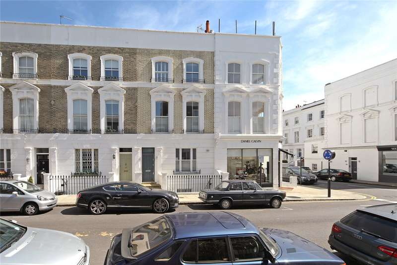 4 Bedrooms Terraced House for sale in Abingdon Road, London, W8