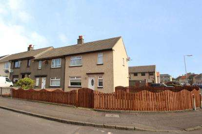 2 Bedrooms End Of Terrace House for sale in Milton Road, Dreghorn, Irvine, North Ayrshire