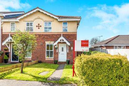 2 Bedrooms End Of Terrace House for sale in Padstow Drive, Saxon Fields, Stafford, Staffordshire