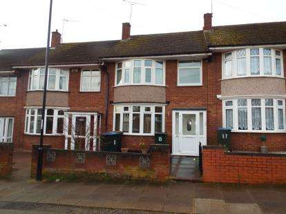 3 Bedrooms Terraced House for sale in Curtis Road, Coventry, West Midlands