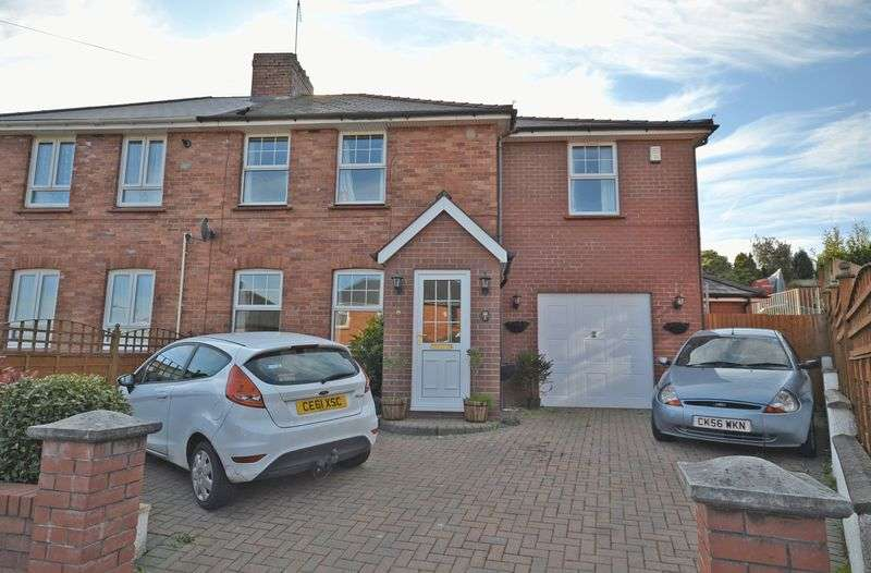4 Bedrooms Semi Detached House for sale in Stunning Extended Family House, Roman Way, Caerleon
