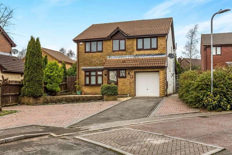 4 Bedrooms Detached House for sale in Cwrt Cilmeri, Morriston, Swansea