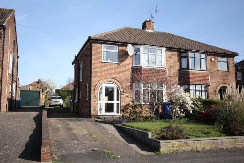 3 Bedrooms Semi Detached House for sale in Wade Drive, Mickleover, Derby