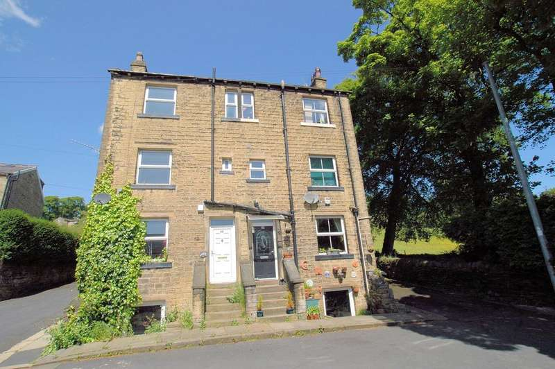 3 Bedrooms End Of Terrace House for sale in 48 Middle Street, Triangle, Sowerby Bridge HX6