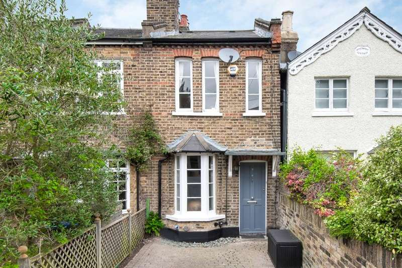 2 Bedrooms End Of Terrace House for sale in Tudor Road, Kingston upon Thames KT2