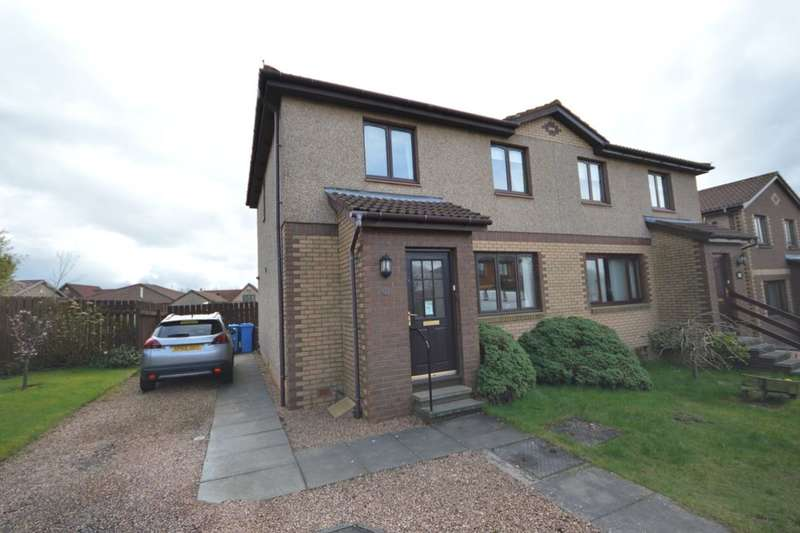 3 Bedrooms Semi Detached House for sale in South Knowe, Crossgates, Cowdenbeath, KY4