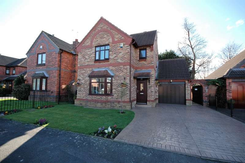 3 Bedrooms Detached House for sale in Abbey court, Normanby, North Yorkshire, TS6