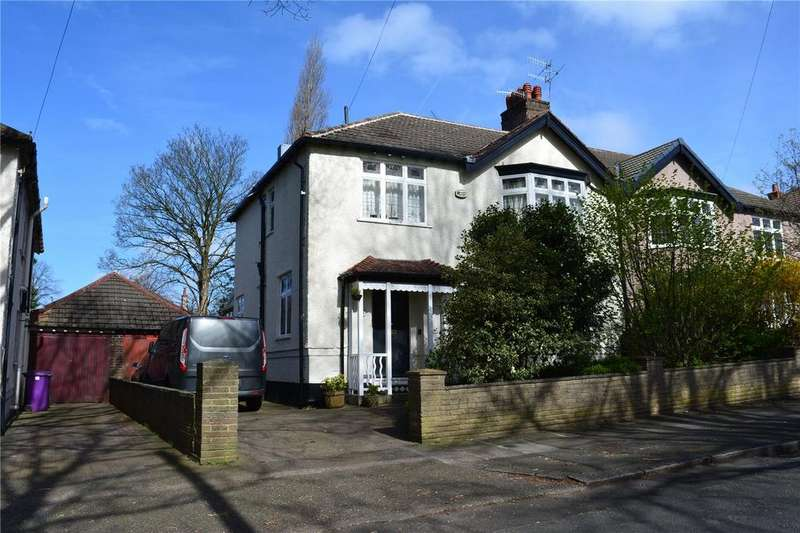 5 Bedrooms Semi Detached House for sale in Menlove Gardens West, Calderstones, Liverpool, Merseyside, L18