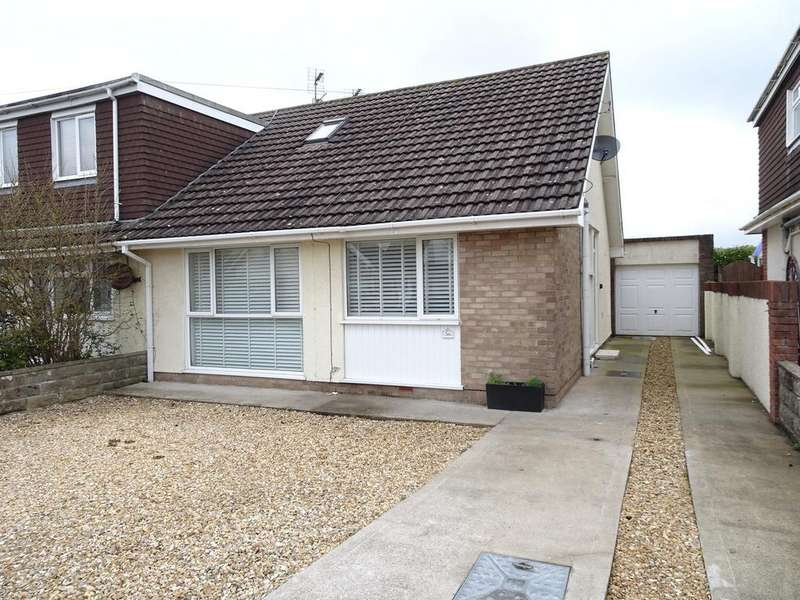 3 Bedrooms Semi Detached Bungalow for sale in LONG ACRE DRIVE, NOTTAGE, PORTHCAWL, CF36 3SB
