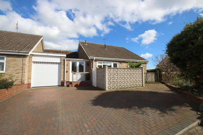 3 Bedrooms Detached Bungalow for sale in Grenada Close, Whitley Lodge, Whitley Bay, NE26