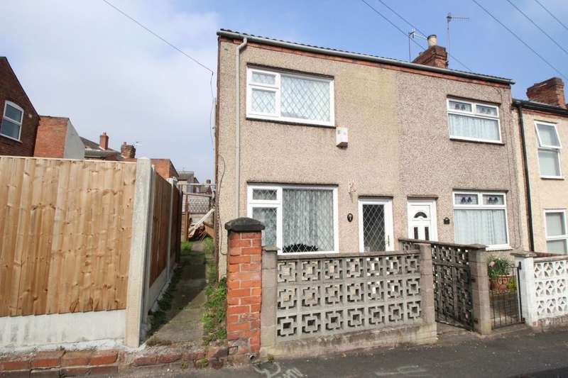 3 Bedrooms Semi Detached House for sale in Gordon Street, Ilkeston, DE7