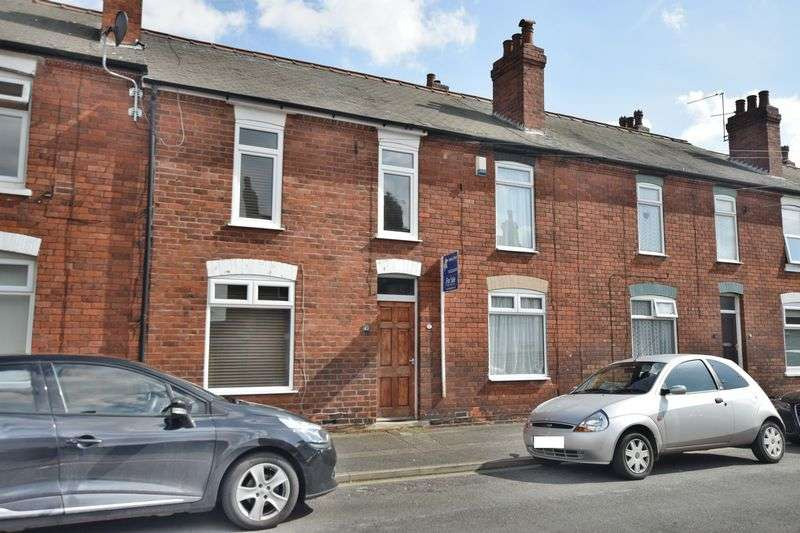 2 Bedrooms Terraced House for sale in Westcliffe Street, Uphill, Lincoln