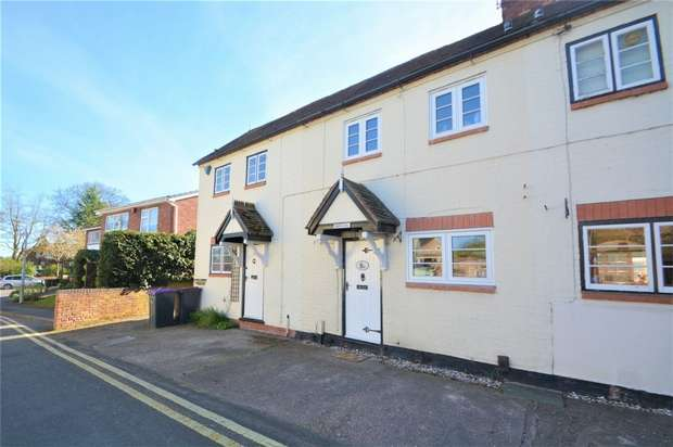 2 Bedrooms Terraced House for sale in The Old Stables, 9a Church Street, Madeley, Shropshire