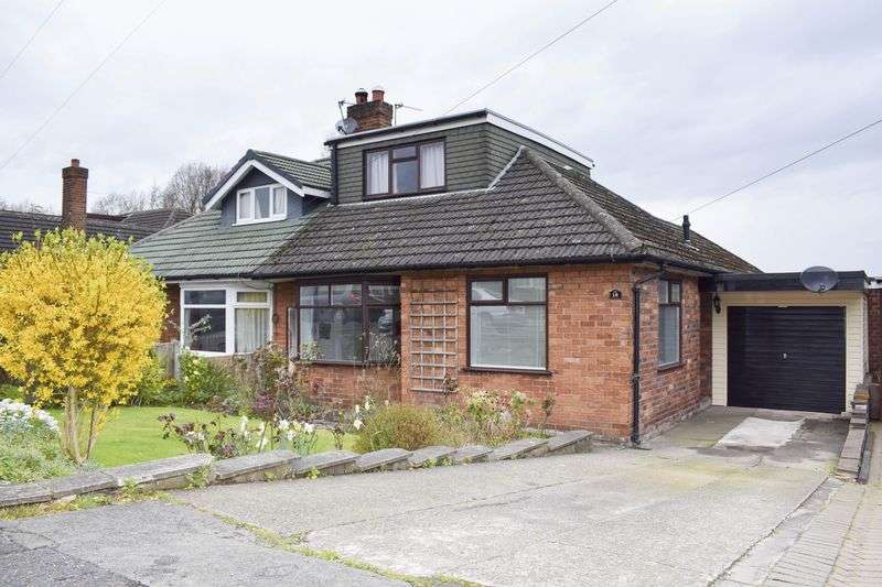 2 Bedrooms Semi Detached Bungalow for sale in Lymmington Avenue, Lymm