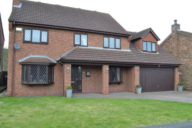 4 Bedrooms Detached House for sale in Appleby Gardens, Broughton
