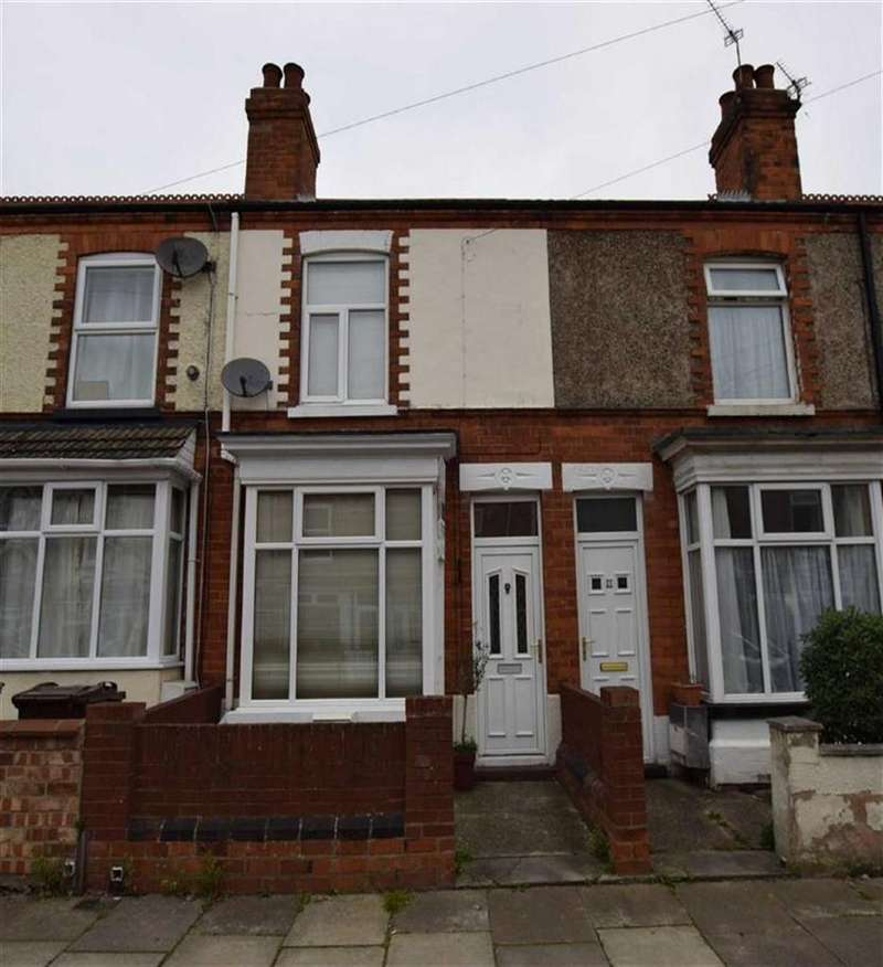 2 Bedrooms Terraced House for sale in Nicholson Street, Cleethorpes, North East Lincolnshire