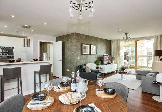 2 Bedrooms Apartment Flat for sale in Novo Phase 2, Great Kneighton, Cambridge