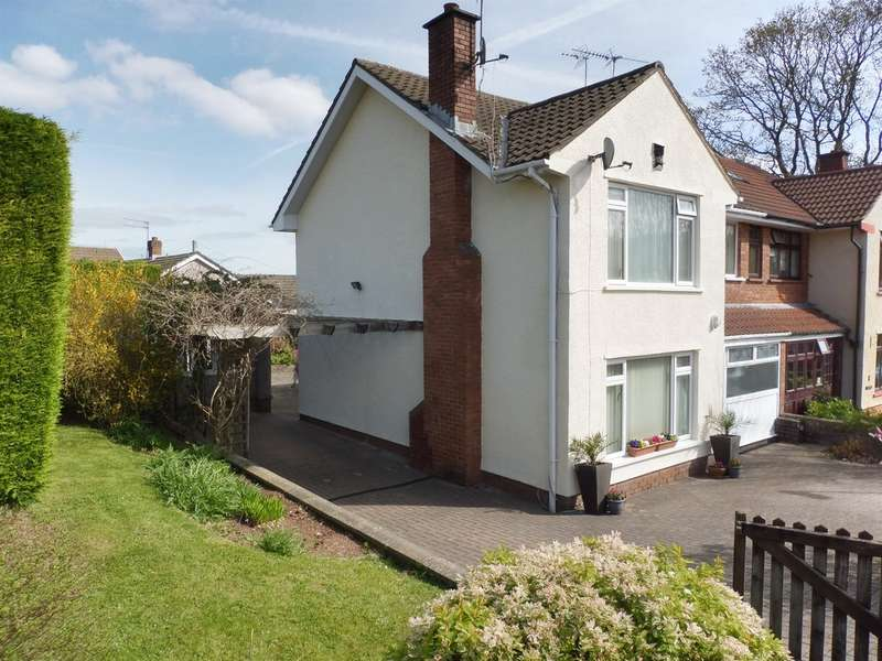 3 Bedrooms Semi Detached House for sale in Hawthorn Close, Dinas Powys