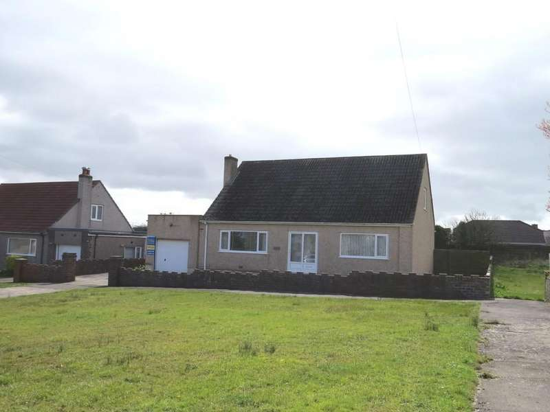 4 Bedrooms Detached Bungalow for sale in Churchill Drive, Moresby Parks, Whitehaven, Cumbria