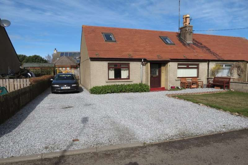 3 Bedrooms Semi Detached Bungalow for sale in South Road, Garmouth, Fochabers, IV32