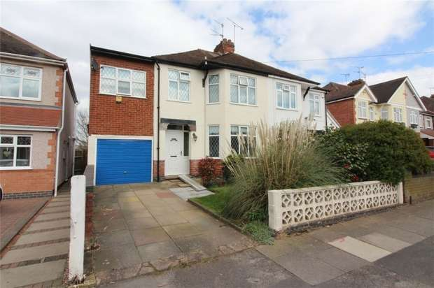 4 Bedrooms Semi Detached House for sale in Prince Of Wales Road, Chapelfields, Coventry