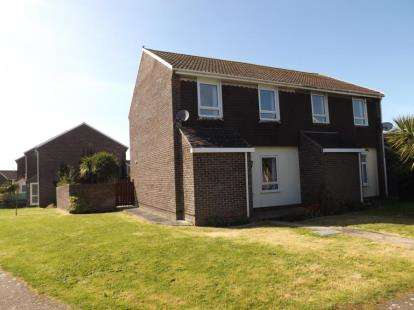 3 Bedrooms Semi Detached House for sale in Cubert, Newquay, Cornwall