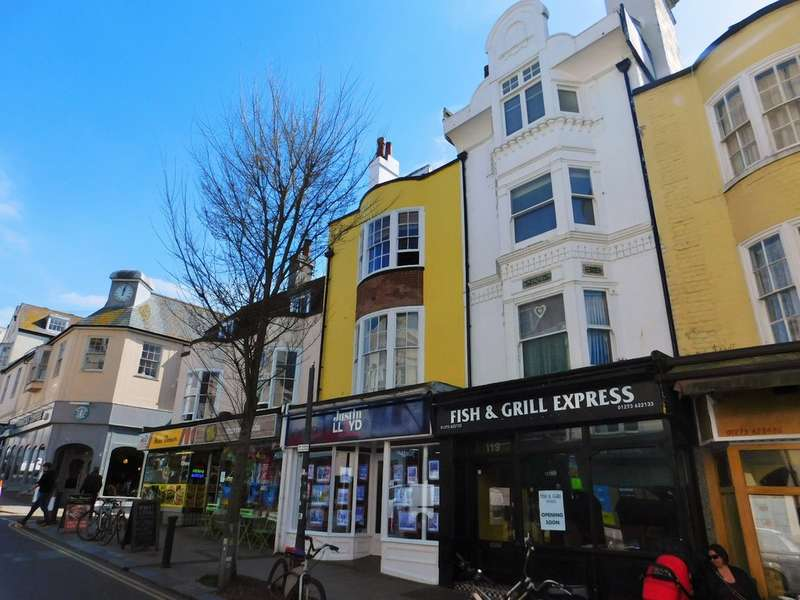 3 Bedrooms Flat for sale in St. James's Street, Brighton