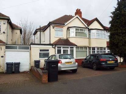 4 Bedrooms Semi Detached House for sale in Kegworth Road, Erdington, Birmingham, West Midlands