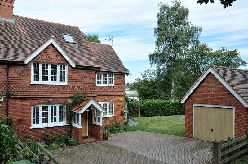 4 Bedrooms Semi Detached House for sale in Close to 'The Nower' Dorking