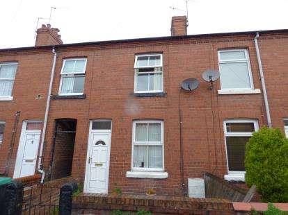 3 Bedrooms Terraced House for sale in Vernon Street, Wrexham, Wrecsam, LL11