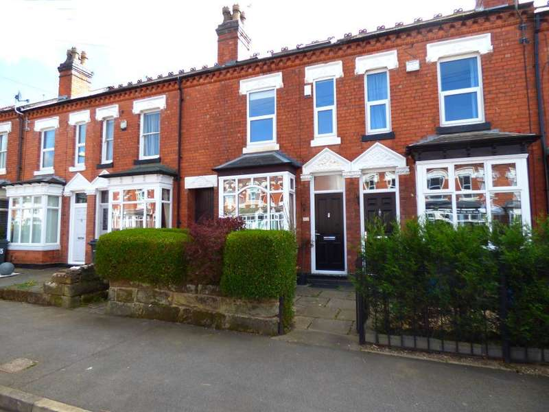 3 Bedrooms Terraced House for sale in Earls Court Road, Harborne, Birmingham, B17 9AH