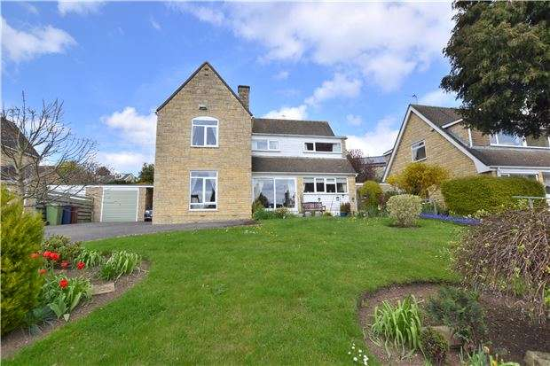 4 Bedrooms Detached House for sale in Hill View, Southam Lane, Southam, CHELTENHAM, Gloucestershire, GL52 3NY