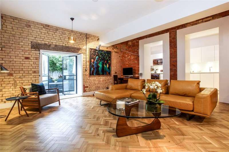 2 Bedrooms Apartment Flat for sale in Old Town Hall Apartments, 19 Spa Road, London, SE16