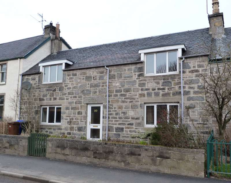 2 Bedrooms Terraced House for sale in High Street, Kingussie, PH21 1HX