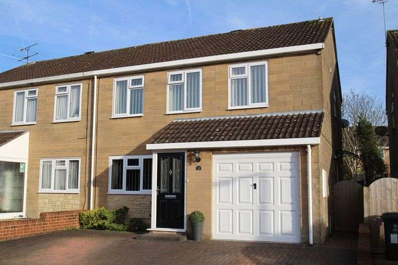 4 Bedrooms Semi Detached House for sale in Turnham Green, Swindon