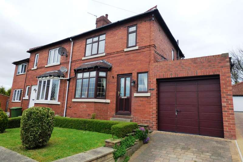 3 Bedrooms Semi Detached House for sale in Church Garth, Glasshoughton, Castleford WF10