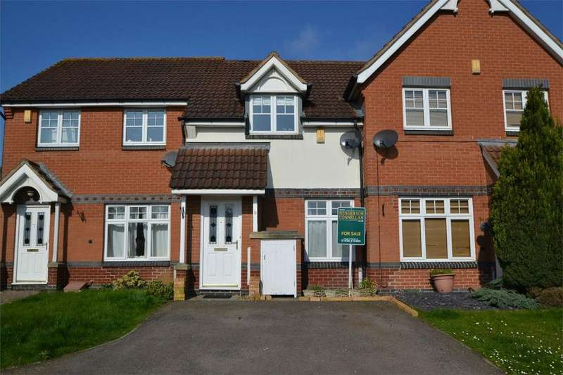 2 Bedrooms Terraced House for sale in Tymecrosse Gardens, Market Harborough, Leicestershire