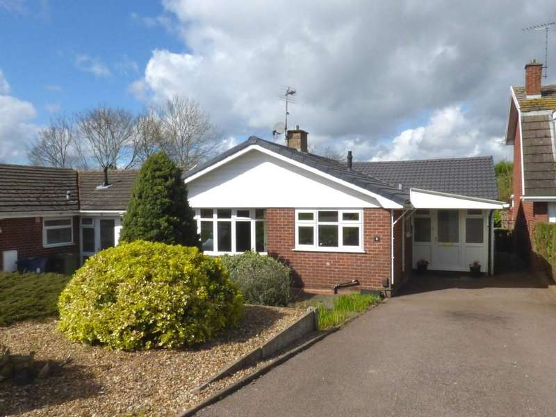 2 Bedrooms Detached Bungalow for sale in Marlborough Close, Great Haywood