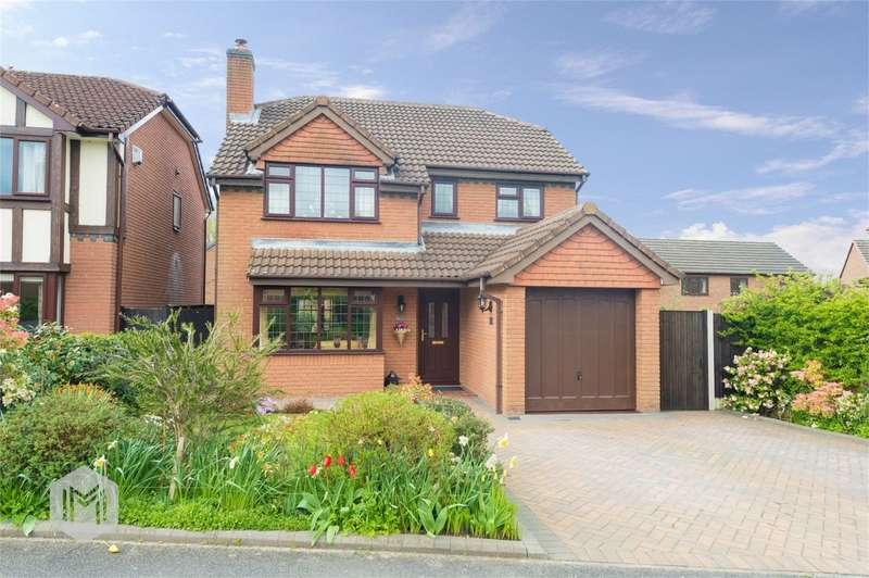 4 Bedrooms Detached House for sale in Doeford Close, Culcheth, Warrington, Cheshire