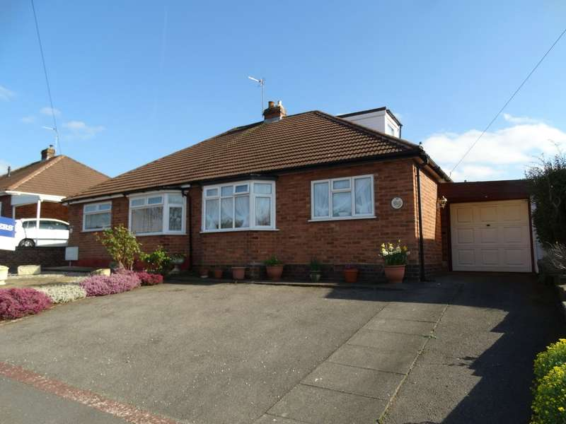 3 Bedrooms Semi Detached Bungalow for sale in Coton Grove, Shirley
