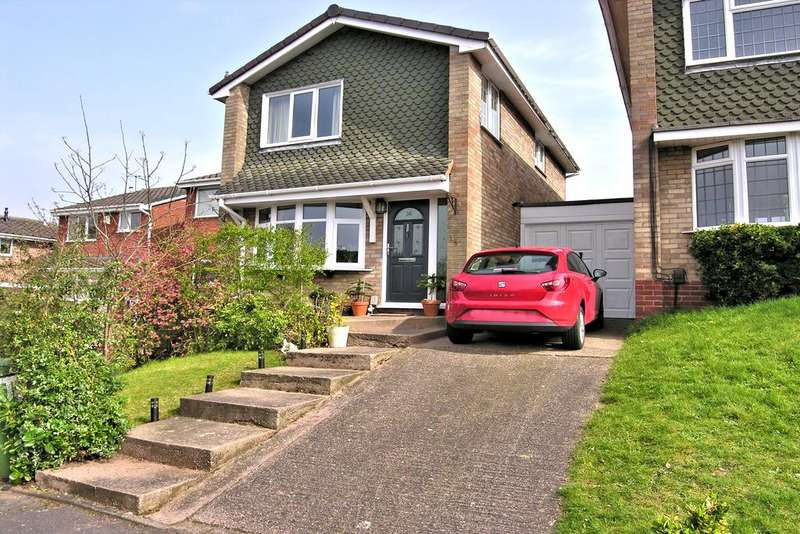 3 Bedrooms Detached House for sale in STONEPINE CLOSE, WILDWOOD, STAFFORD ST17
