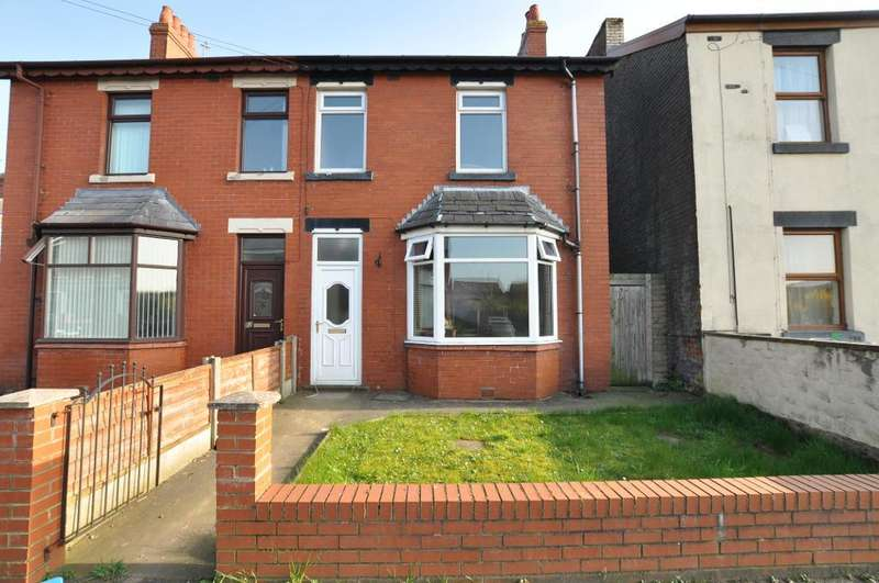3 Bedrooms Semi Detached House for sale in Lytham Road, Freckleton, Preston, Lancashire, PR4 1AB