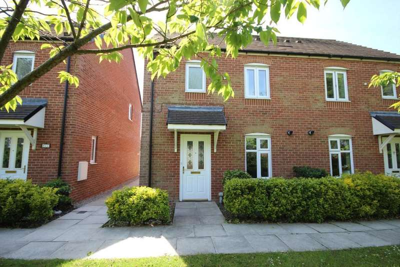 3 Bedrooms Semi Detached House for sale in Fairfield Way, Wesham, Preston, Lancashire, PR4 3EP