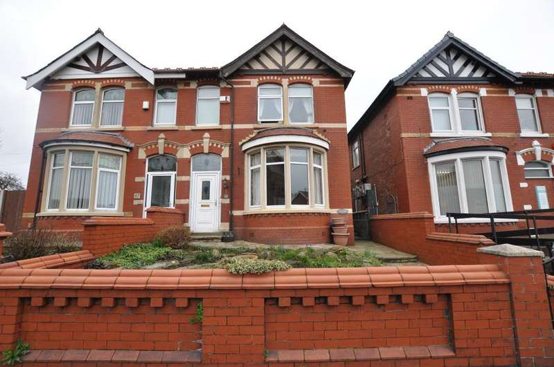 3 Bedrooms Semi Detached House for sale in Westcliffe Drive, Layton, Blackpool, Lancashire, FY3 7DH