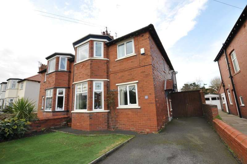 4 Bedrooms Semi Detached House for sale in Ryeheys Road, St Annes, Lytham St Annes, Lancahsire, FY8 2HA